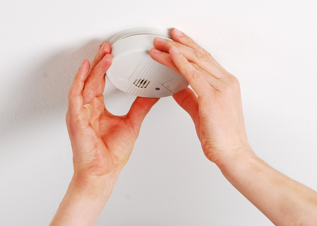Maintain your smoke detectors